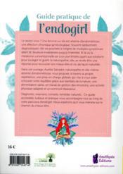 Guide pratique de l'endogirl - 4ème de couverture - Format classique
