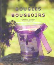 Bougies et bougeoirs - Couverture - Format classique