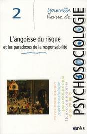 Nouvelle revue de psychosociologie T.2 ; l'angoisse du risque et les paradoxes de la responsabilité - Intérieur - Format classique