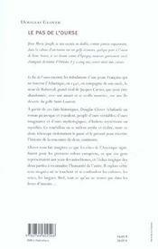 Pas De L'Ourse (Le) - 4ème de couverture - Format classique