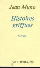 Histoires Griffues - Couverture - Format classique