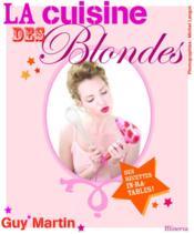 La cuisine des blondes - Couverture - Format classique