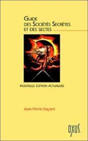 Guide des sociétés secrètes et des sectes - Couverture - Format classique