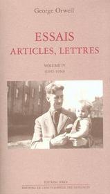 Essais, Articles, Lettres T4 - Intérieur - Format classique