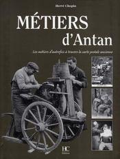 Métiers d'antan - Intérieur - Format classique