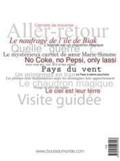 Revue Bouts Du Monde N.4 - 4ème de couverture - Format classique