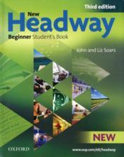 New headway; beginner ; livre de l'élève (3e édition) - Couverture - Format classique