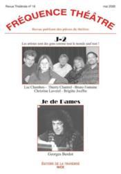 Revue Frequence Theatre N.18 ; J-2 ; Je De Dames - Couverture - Format classique