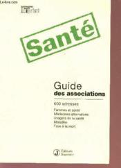 Guide Des Associations Sante - Couverture - Format classique