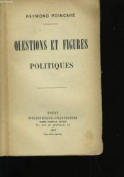 Questions Et Figures Politiques. - Couverture - Format classique