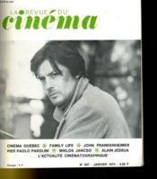 Le Revue Du Cinema N°267 - Couverture - Format classique