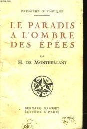 Premiere Olympique - Le Paradis A L'Ombre Des Epees - Couverture - Format classique