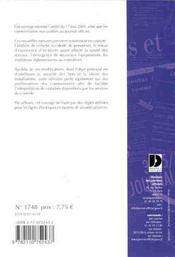Energie electrique ; conditions techniques de distribution ; arrete du 17 mai 2001 - 4ème de couverture - Format classique