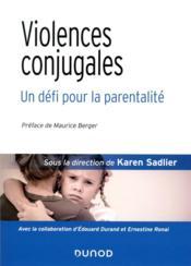 Violences conjugales : un défi pour la parentalité - Couverture - Format classique