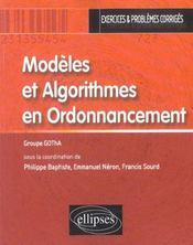 Modeles Et Algorithmes En Ordonnancement Exercices Et Problemes Corriges - Intérieur - Format classique