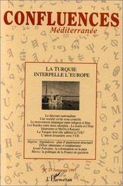 La Turquie Interpelle L'Europe - Couverture - Format classique