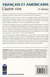Français et américains (3e édition) - 4ème de couverture - Format classique