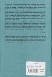 Notes - 4ème de couverture - Format classique