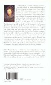 Catherine de bourbon, l'insoumise - 4ème de couverture - Format classique