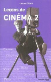 Lecons de cinema 2 - Couverture - Format classique