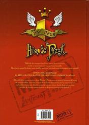 Heroic pizza t.1 ; pepperoni power - 4ème de couverture - Format classique