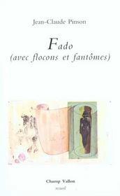 Fado (Avec Flocons Et Fantomes) - Intérieur - Format classique
