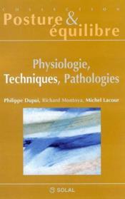 Physiologie, techniques, pathologies - Couverture - Format classique