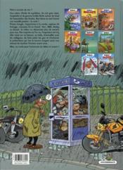 Les fondus de moto T.1 - 4ème de couverture - Format classique