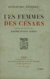 Les femmes des césars - Couverture - Format classique