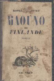 Maouno De Finlande. - Couverture - Format classique