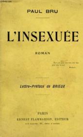 L'Insexuee. - Couverture - Format classique