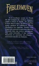 Fablehaven t.4 ; le temps des dragons - 4ème de couverture - Format classique
