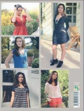 Vêtements couture ; inspiration amérindienne ; patrons du 34 au 46 - 4ème de couverture - Format classique