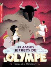 Les agents secrets de l'Olympe T.6 ; Thésée et le minotaure - Couverture - Format classique