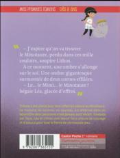 Les agents secrets de l'Olympe T.6 ; Thésée et le minotaure - 4ème de couverture - Format classique