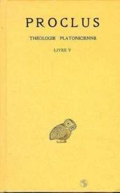 Théologie t.5 ; livre 5 - Couverture - Format classique