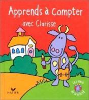 Apprends A Compter Avec Clarisse - Couverture - Format classique