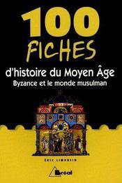 100 fiches d'histoire du moyen age - Intérieur - Format classique