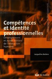Competences et identite professionnelles - Intérieur - Format classique