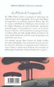 Le Pelerin De Compostelle - 4ème de couverture - Format classique