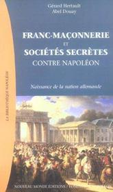 Franc-maconnerie et societes secretes prussiennes contre napoleon - Intérieur - Format classique