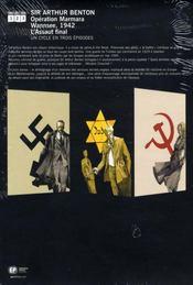Coffret trilogie ; sir arthur benton - 4ème de couverture - Format classique