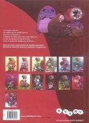 Monster allergy t.13 ; le masque de feu - 4ème de couverture - Format classique