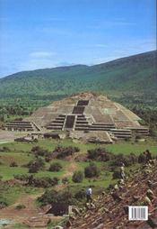 Tresors De L'Art Au Mexique - 4ème de couverture - Format classique