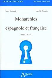 Monarchies espagn.& fran - Intérieur - Format classique