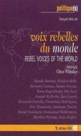 Voix rebelles du monde ; rebel voices of the world - Couverture - Format classique