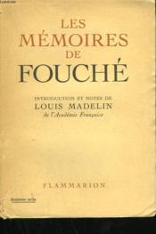 Les Memoires De Fouche. - Couverture - Format classique