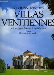 Civilisation des villas vénitiennes - Couverture - Format classique