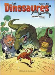 Les dinosaures en bande dessinée T.1 - Couverture - Format classique