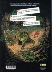 Les dinosaures en bande dessinée T.1 - 4ème de couverture - Format classique